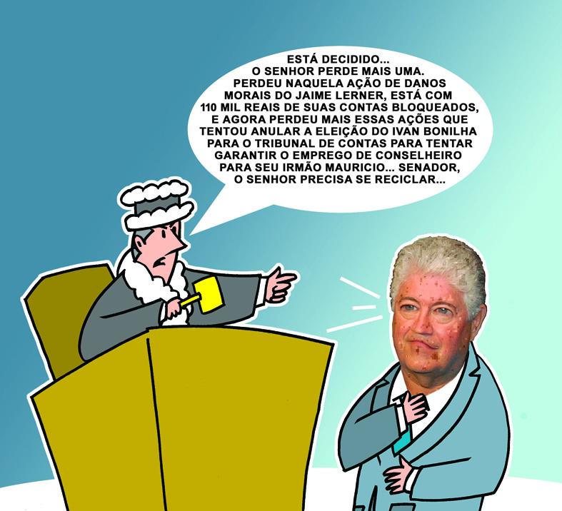 Boquirroto agitado:Requião é forte candidato a um hospício e delatado na Carne Fraca