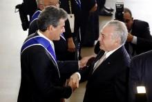 Temer condecora com a Ordem de Rio Branco o governador do Paraná
