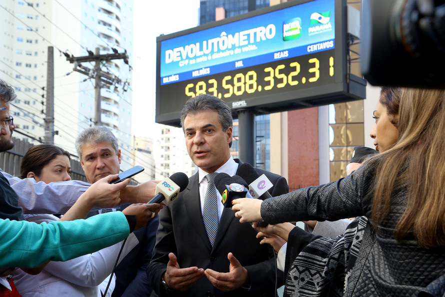 Richa instala devolutômetro no centro de Curitiba