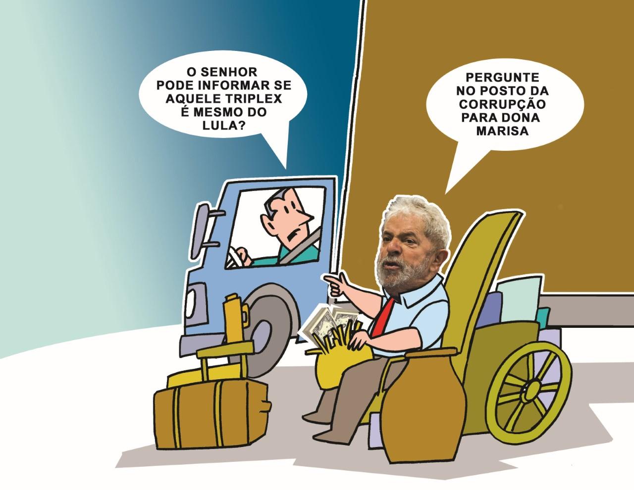 Lula é o perseguido político mais rico do mundo