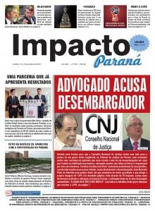 VAZAMENTO DE VOTO NO PODER JUDICiÁRIO DO PARANÁ EXIGE MANIFESTAÇÃO DO C.N.J