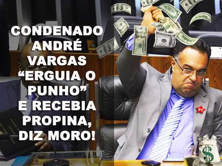 BOCÃO CONTINUA ATRÁS DAS GRADES- STJ nega pedido de André Vargas para parcelar multa e progredir de regime